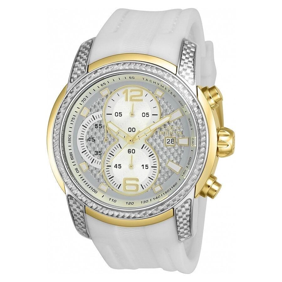 Invicta S1 Rally Silver Dial Chronograph Mens Watch 24240