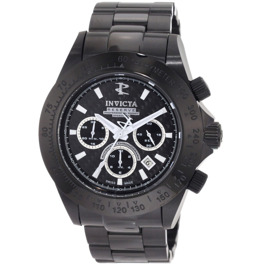 uk defender watch on watches pvd air black image automatic chronograph swiss bracelet