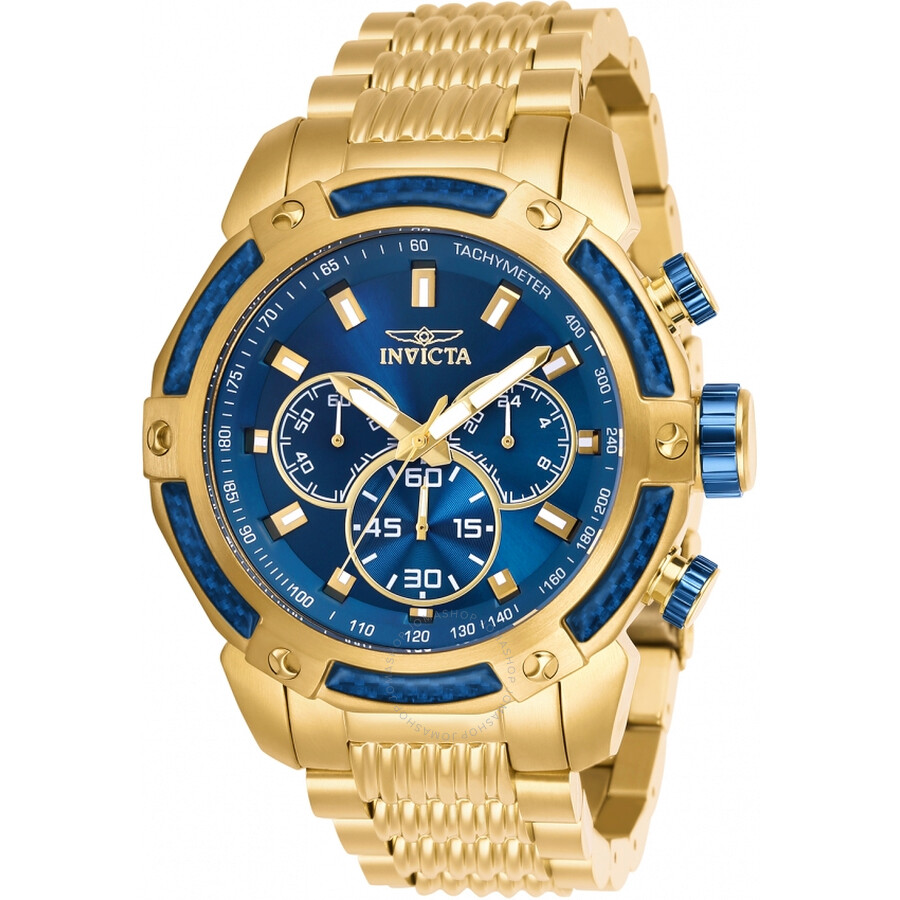 Invicta Speedway Chronograph Blue Dial Mens Watch 26476