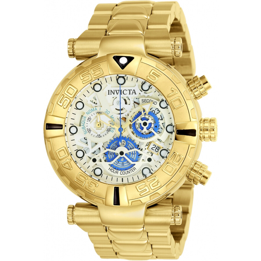 Invicta Subaqua Chronograph White Dial Mens Watch 24989