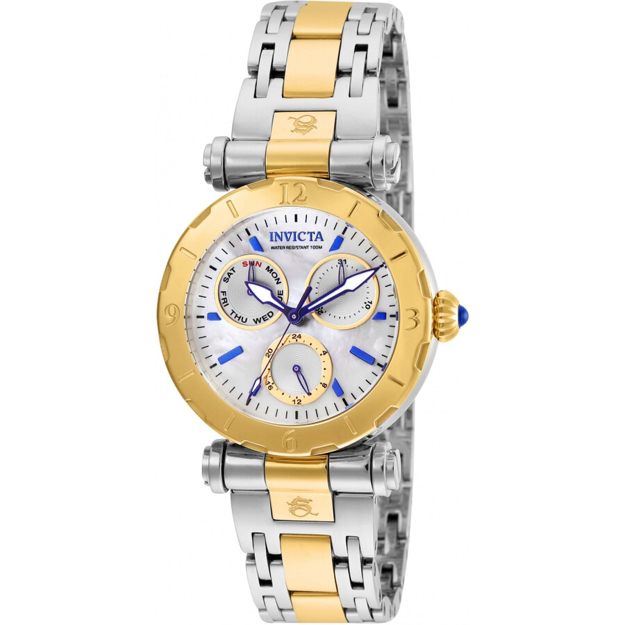 Invicta Subaqua Mother of Pearl Dial Ladies Watch 24464