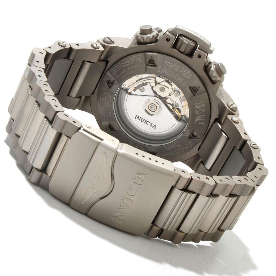 6 оценок товара - invicta mens subaqua noma iii chrono two tone bracelet watch.