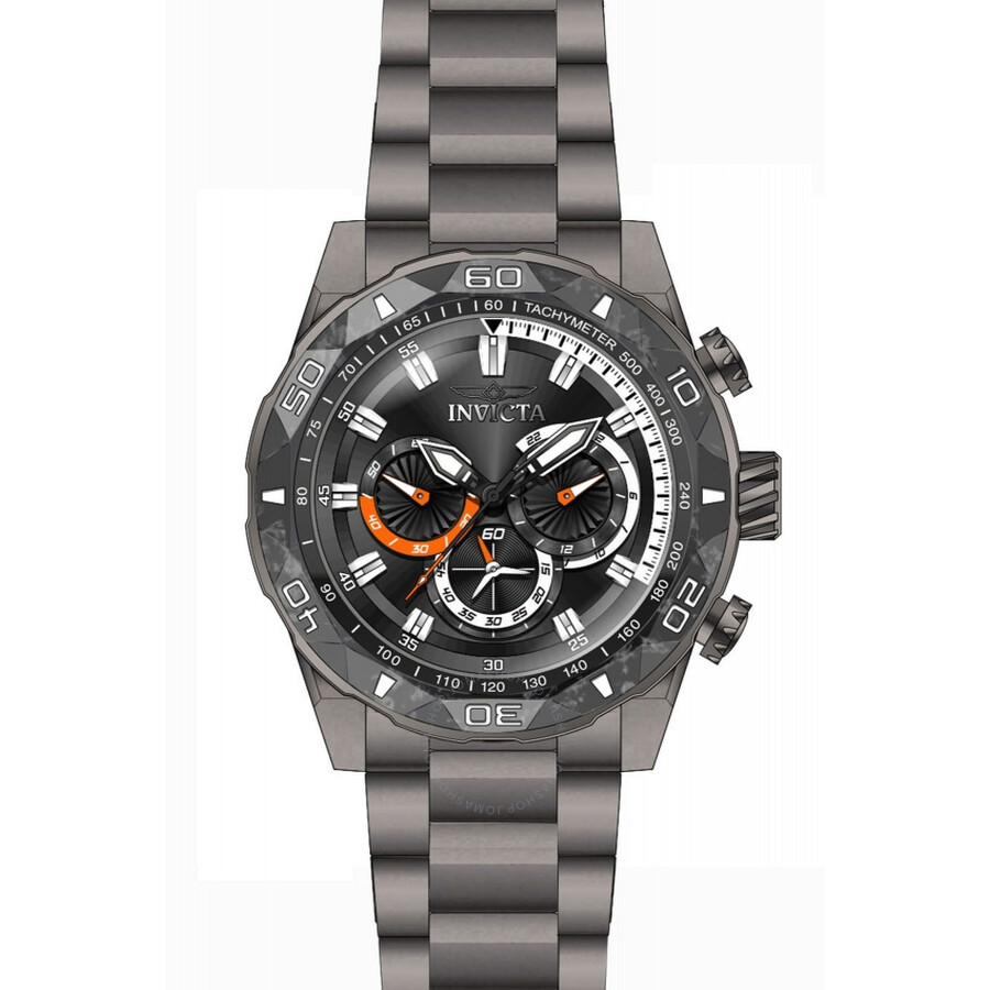 Invicta TI-22 Chronograph Black Dial Mens Watch 23516