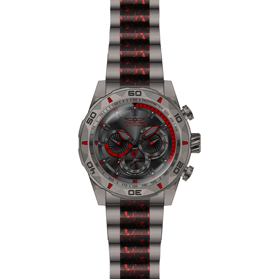 Invicta TI-22 Chronograph Black Dial Mens Watch 23519