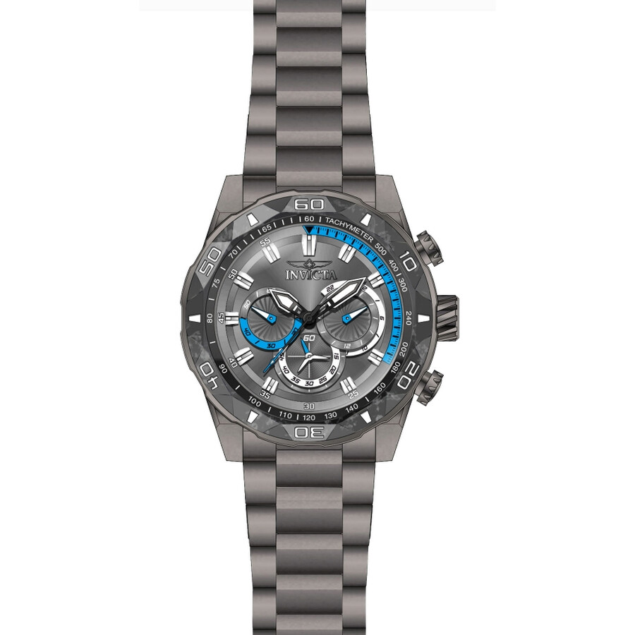 Invicta TI-22 Chronograph Grey Dial Mens Watch 23517
