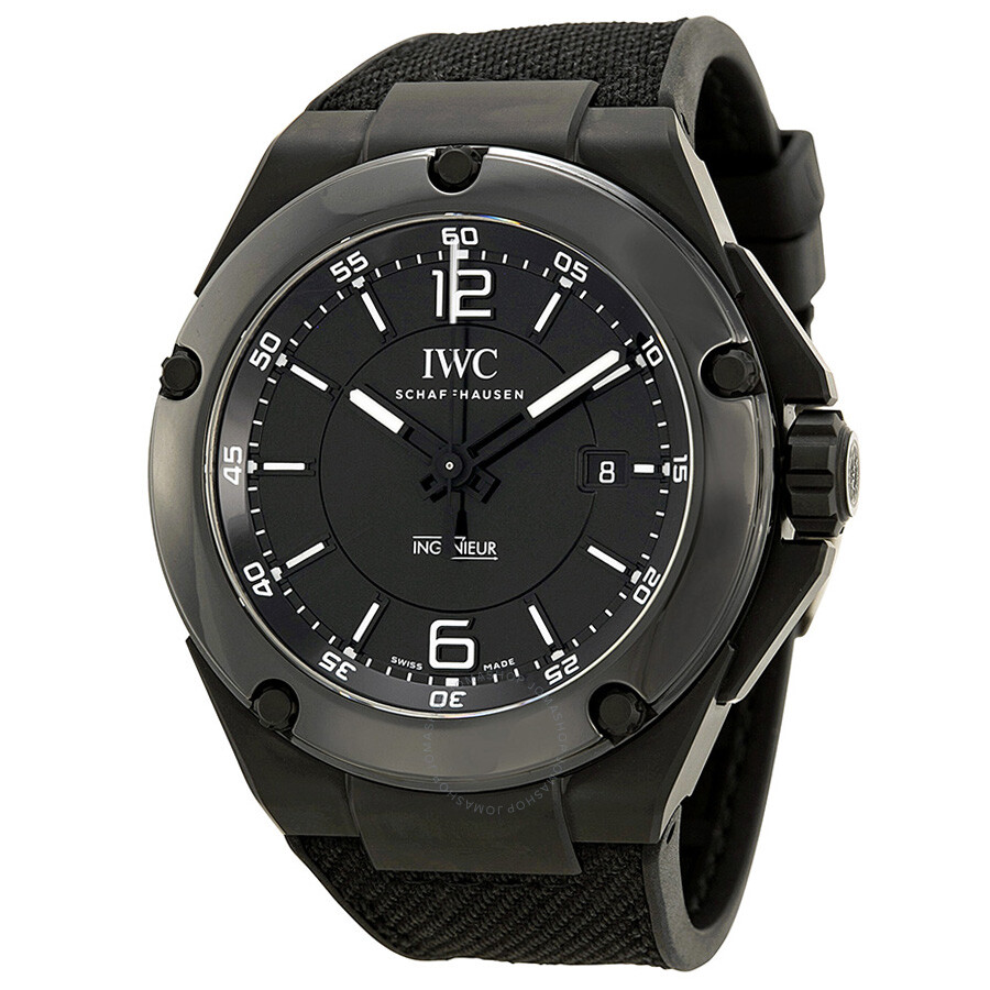 iwc ingenieur automatic amg black ceramic men 39 s watch. Black Bedroom Furniture Sets. Home Design Ideas