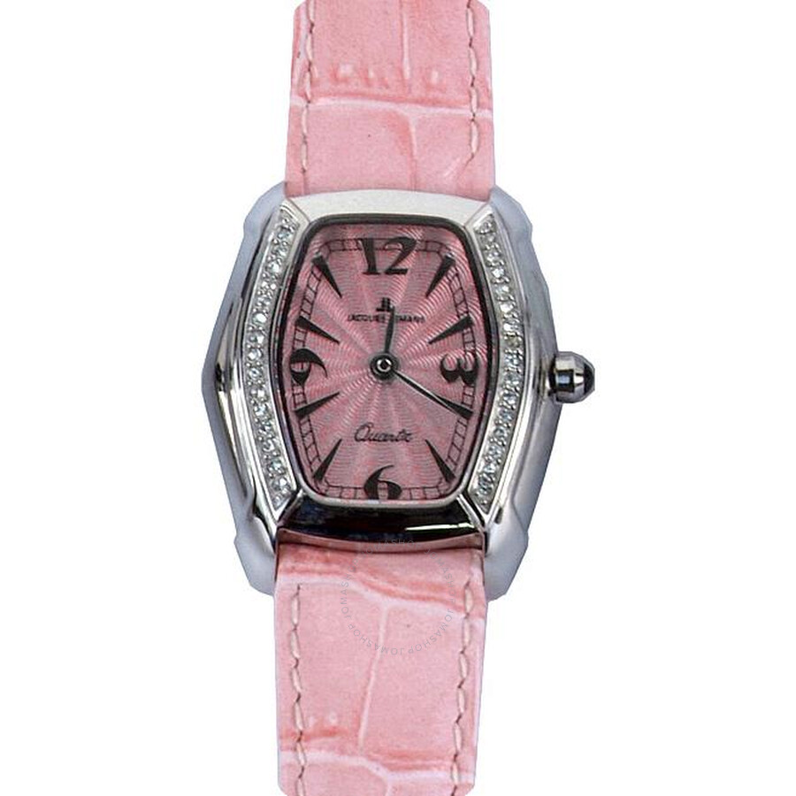 Jacques Lemans Pink Dial Ladies Watch 1-1122B