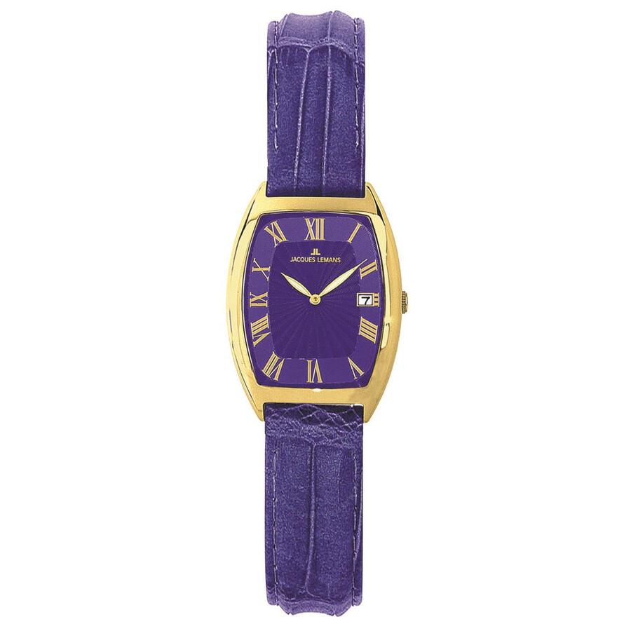 Jacques Lemans Rome Blue Dial Ladies Watch 1-1018S