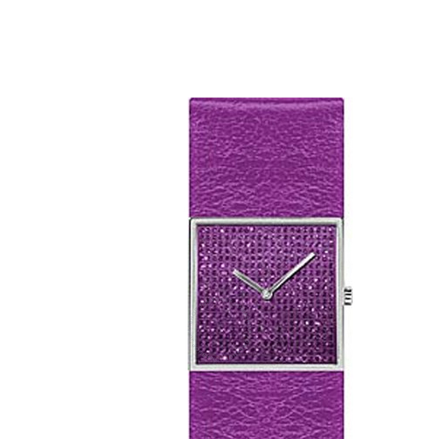 Jacques Lemans Starlight Purple Dial Ladies Watch 1-1251H
