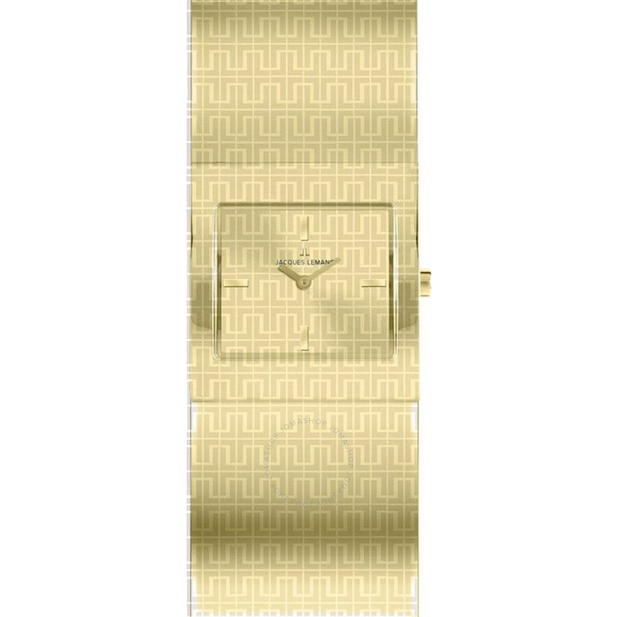 Jacques Lemans Vedette Champagne Dial Gold-Tone Ladies Watch 1-1511C