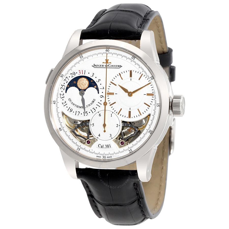 Jaeger lecoultre duometre quantieme lunaire men 39 s watch q6043420 jaeger lecoultre watches for Lecoultre watches