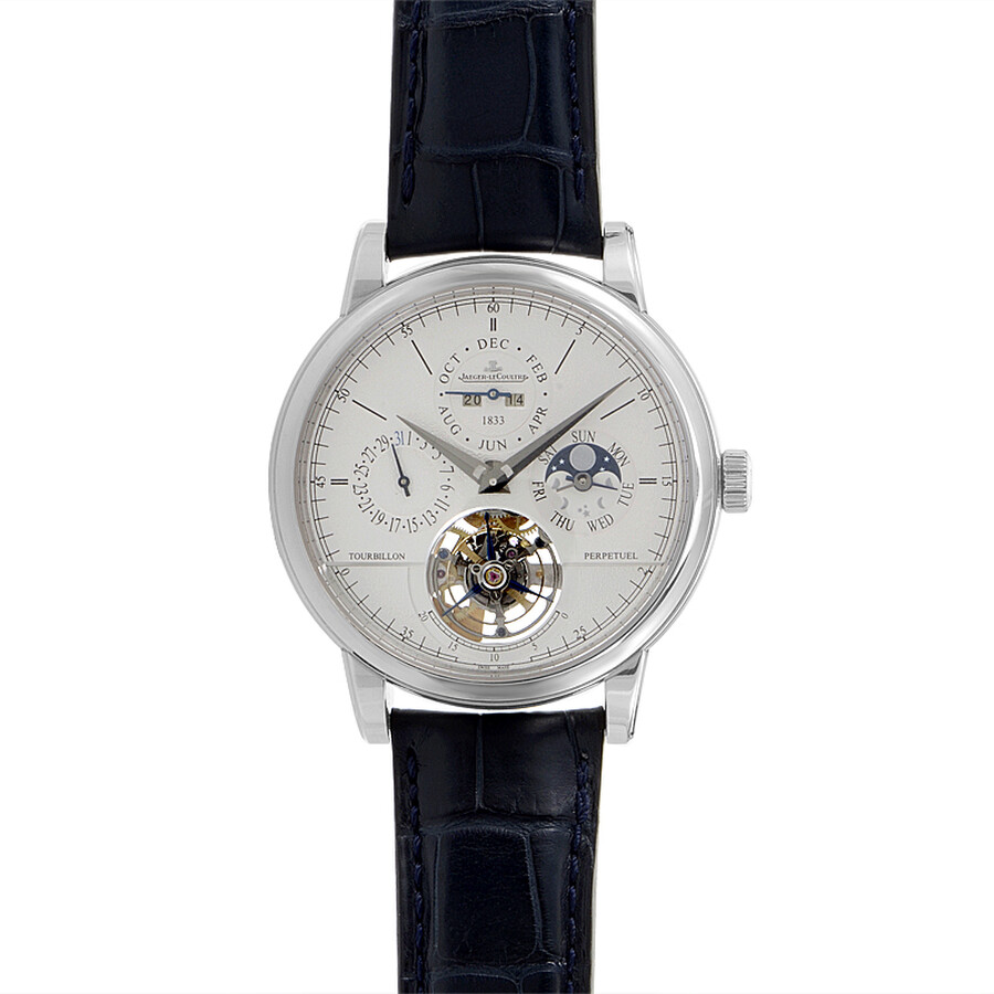 Jaeger LeCoultre Master Grande Tradition Tourbillon Platinum Mens Watch Q5046520