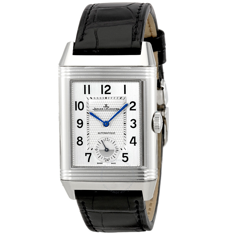 Jaeger lecoultre reverso classic large duo automatic men 39 s watch q3838420 reverso jaeger for Lecoultre watches