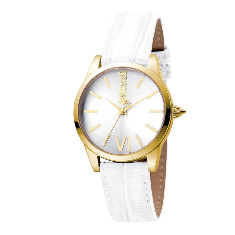 Just Cavalli Relaxed Silver Dial Ladies Watch JC1L010L0055
