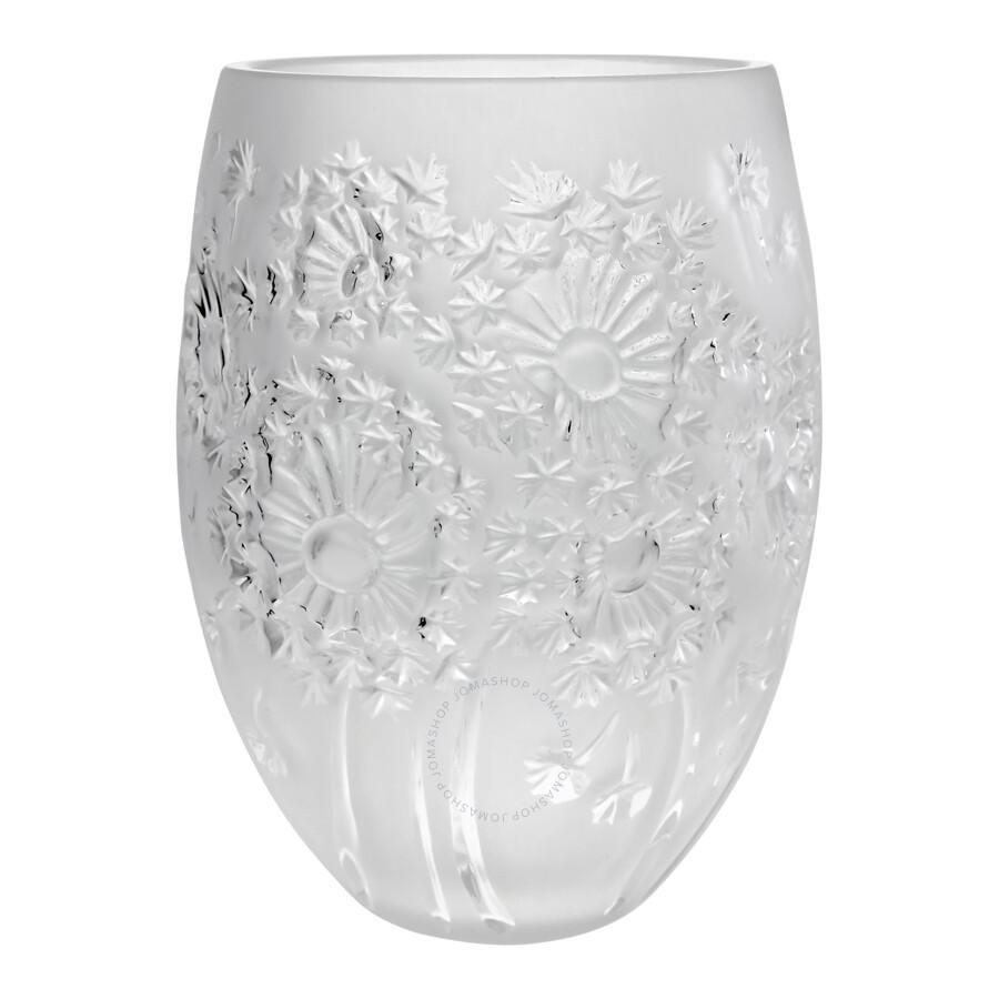 lalique bucolique vase 10376700 - Lalique Vase