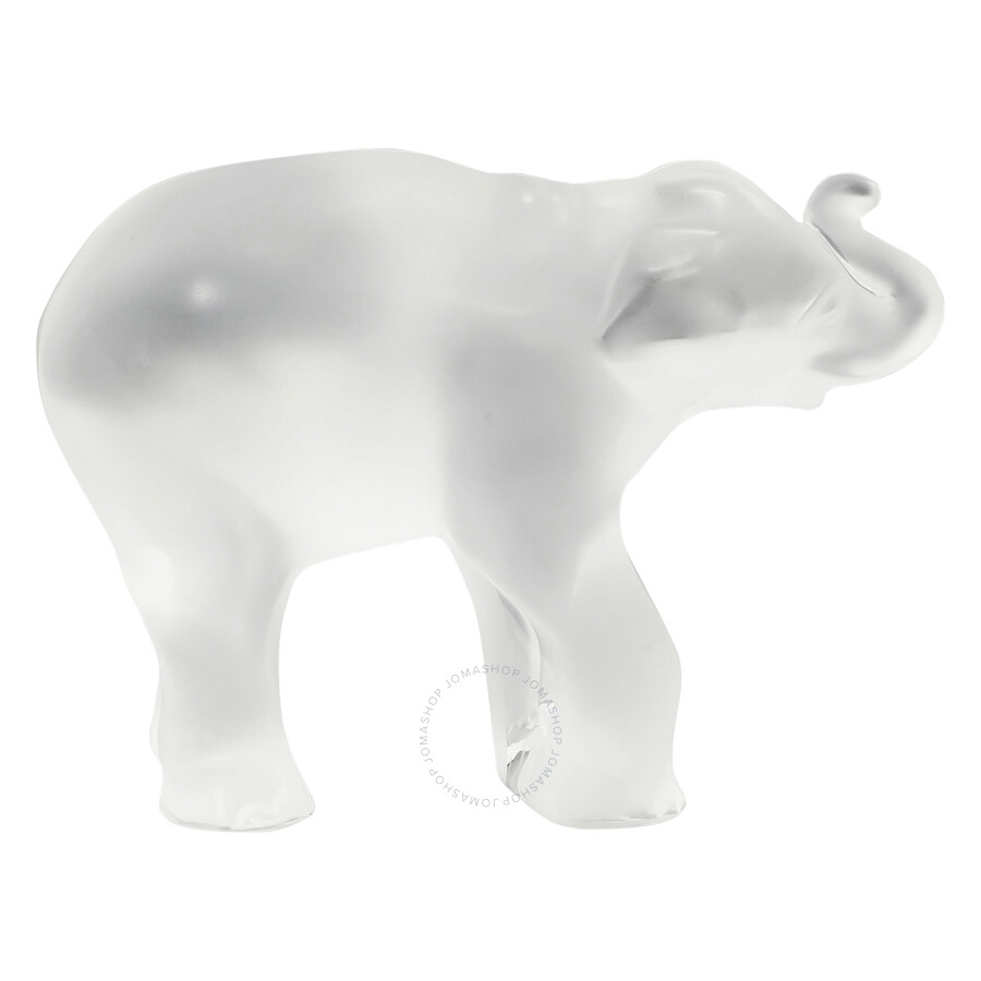 Rene Lalique Paperweight Toby Elephant