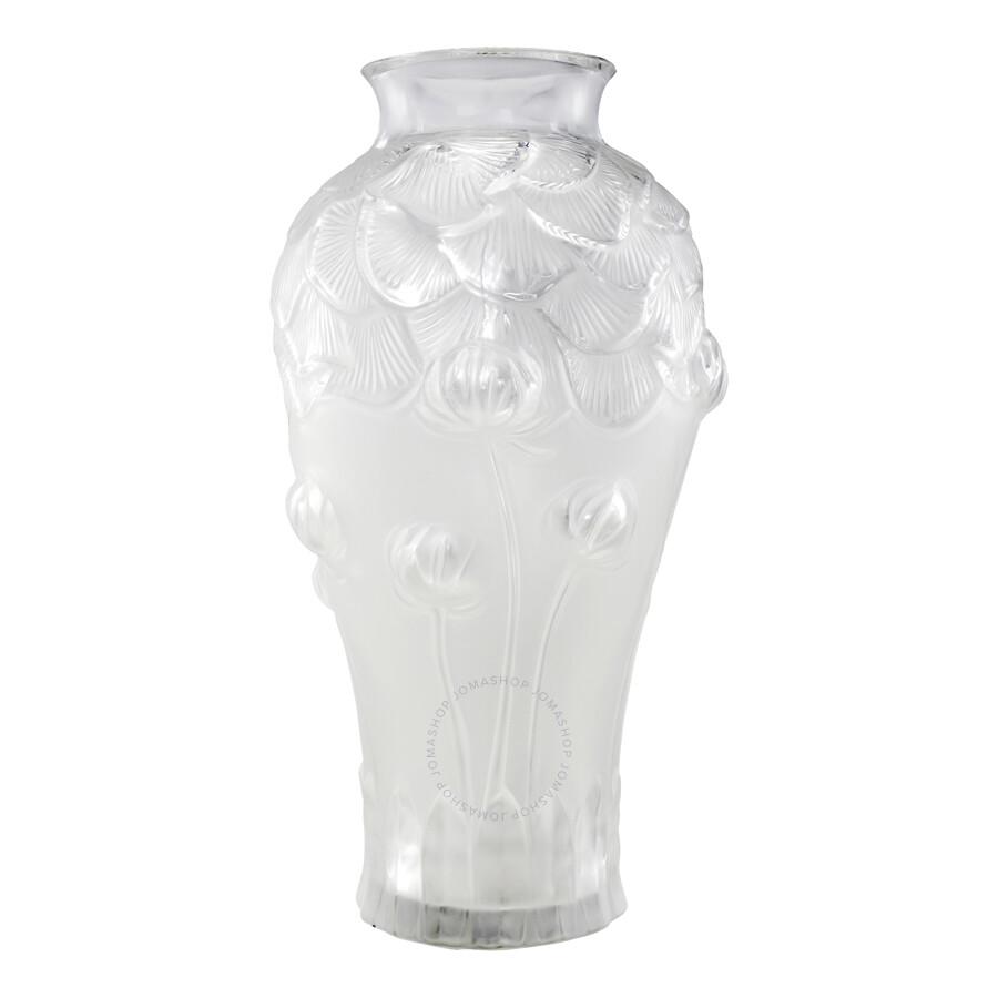 lalique giverny vase 1250000 - Lalique Vase