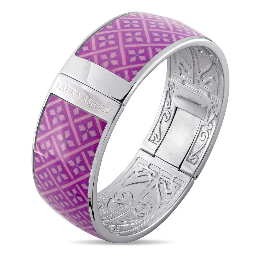 Laura Ashley Vintage Design Purple Enamel Bangle JMS004108