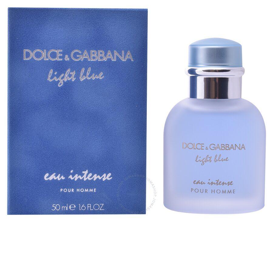 light blue eau intense dolce and gabbana edp spray 1 6 oz 50 ml m unisex fragrances. Black Bedroom Furniture Sets. Home Design Ideas