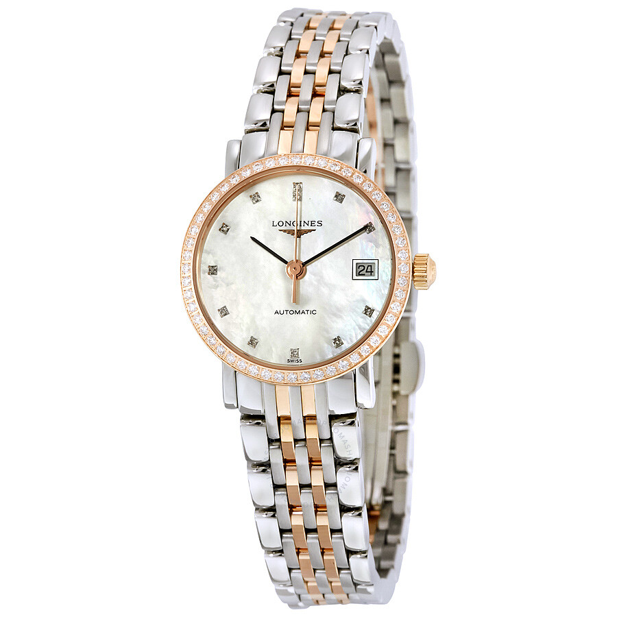 longines female longines eleganrt collection automatic ladies watch l43095887