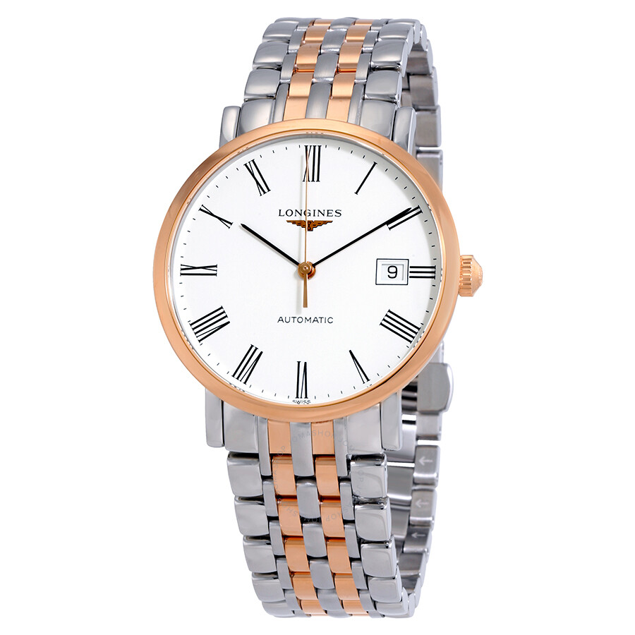 Longines Elegant White Dial Automatic Unisex Watch L48105117