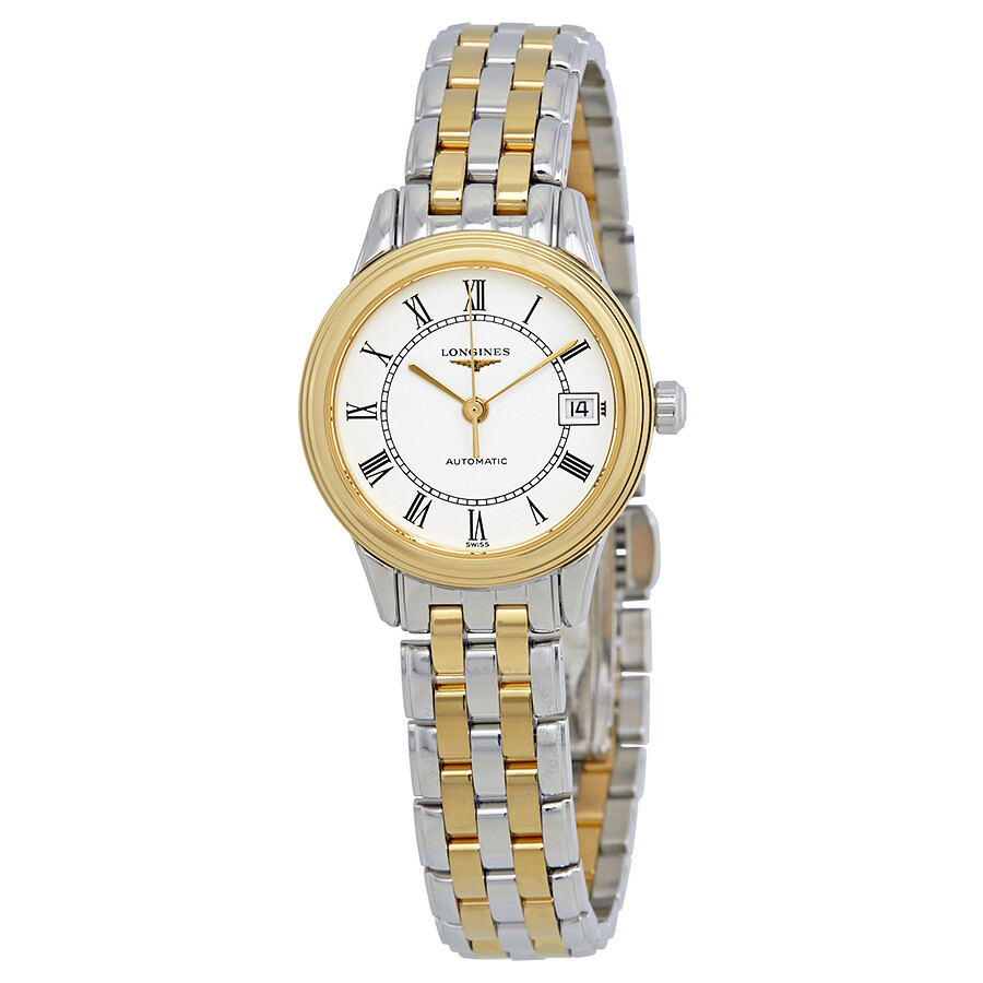Longines Flagship White Dial Automatic Ladies Watch L42743217