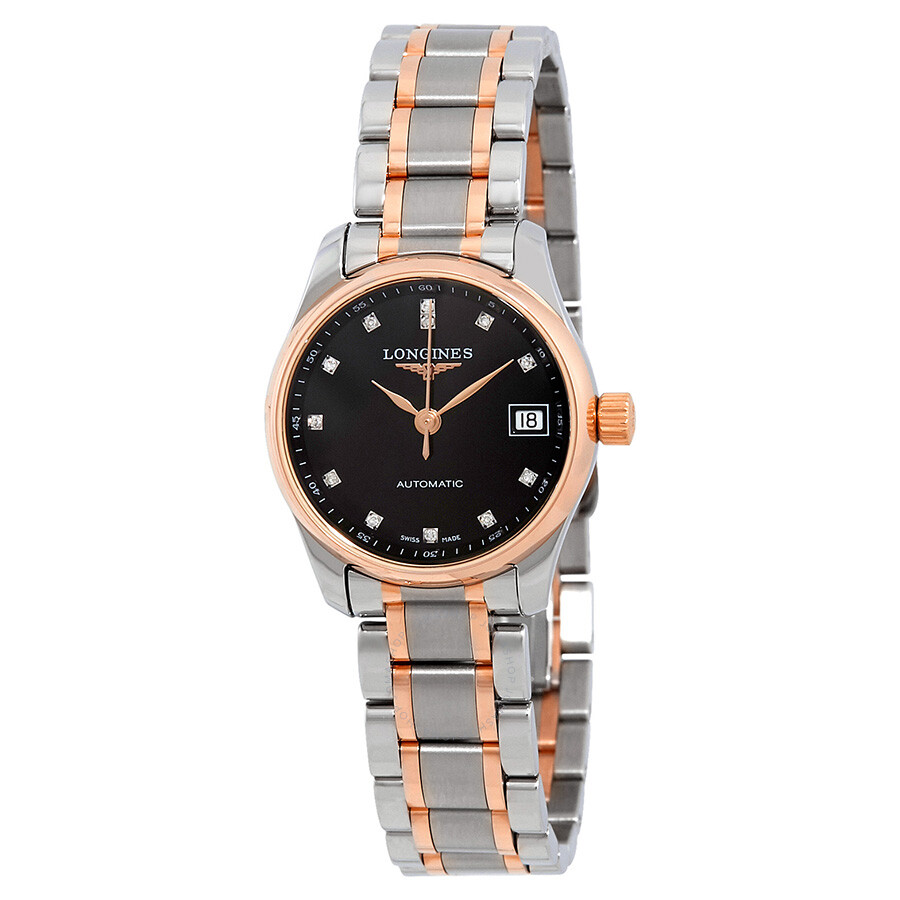 Longines Master Automatic Black Dial Ladies Watch L21285597
