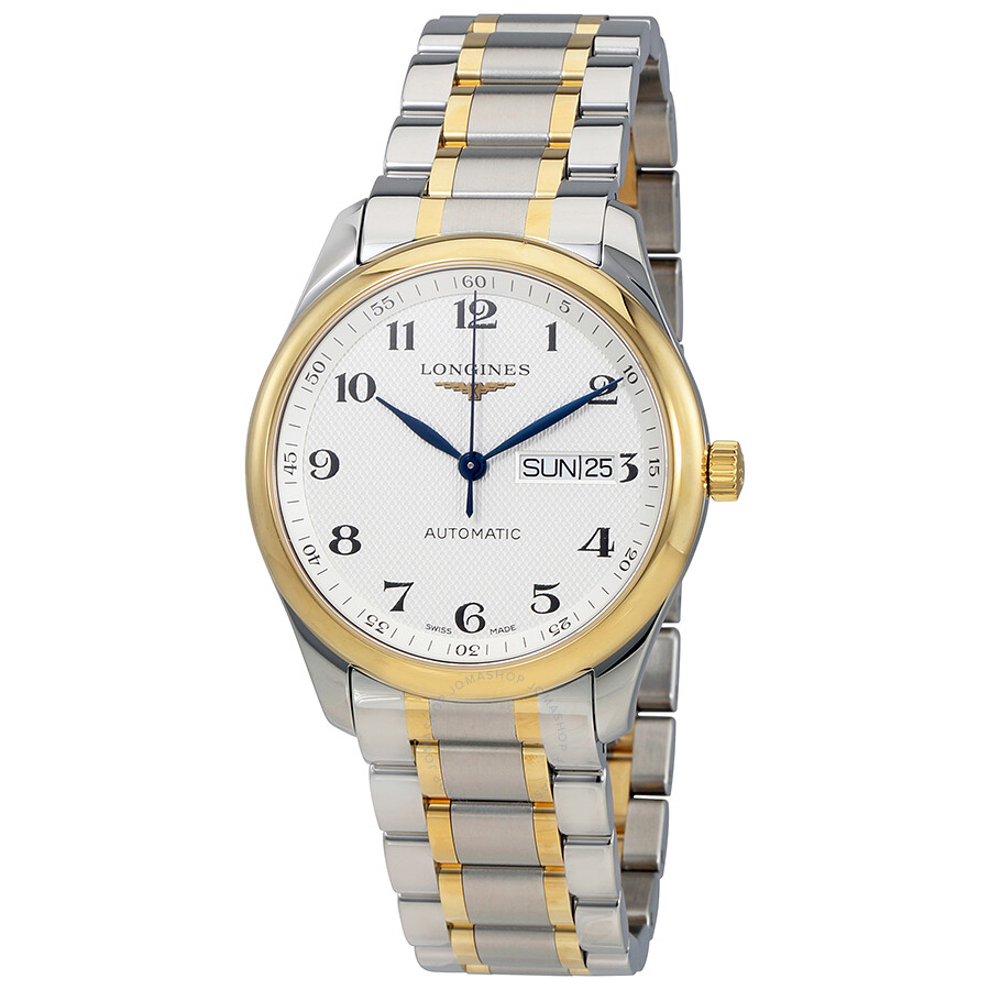 Longines Master Automatic Silver Dial Mens Watch L2.755.5.78.7