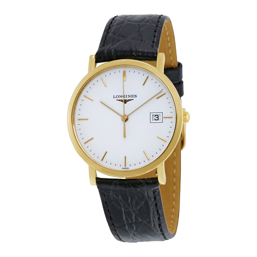 longines female longines presence white dial ladies watch l47776122