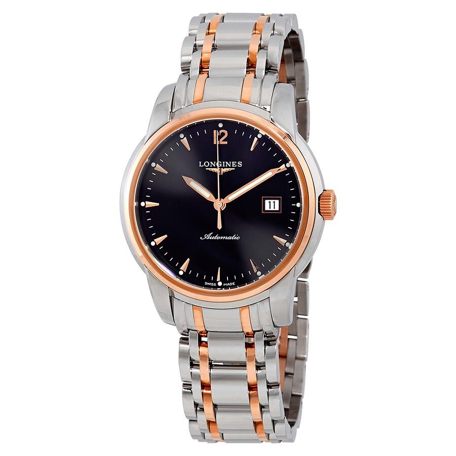 Longines Saint-Imier Black Dial Automatic Mens Watch L2.766.5.52.7