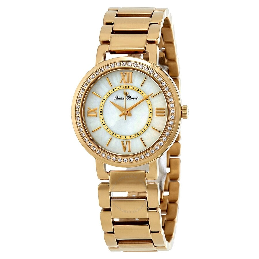 Open Box - Lucien Piccard Alice Ladies Watch 11902-YG-22MOP