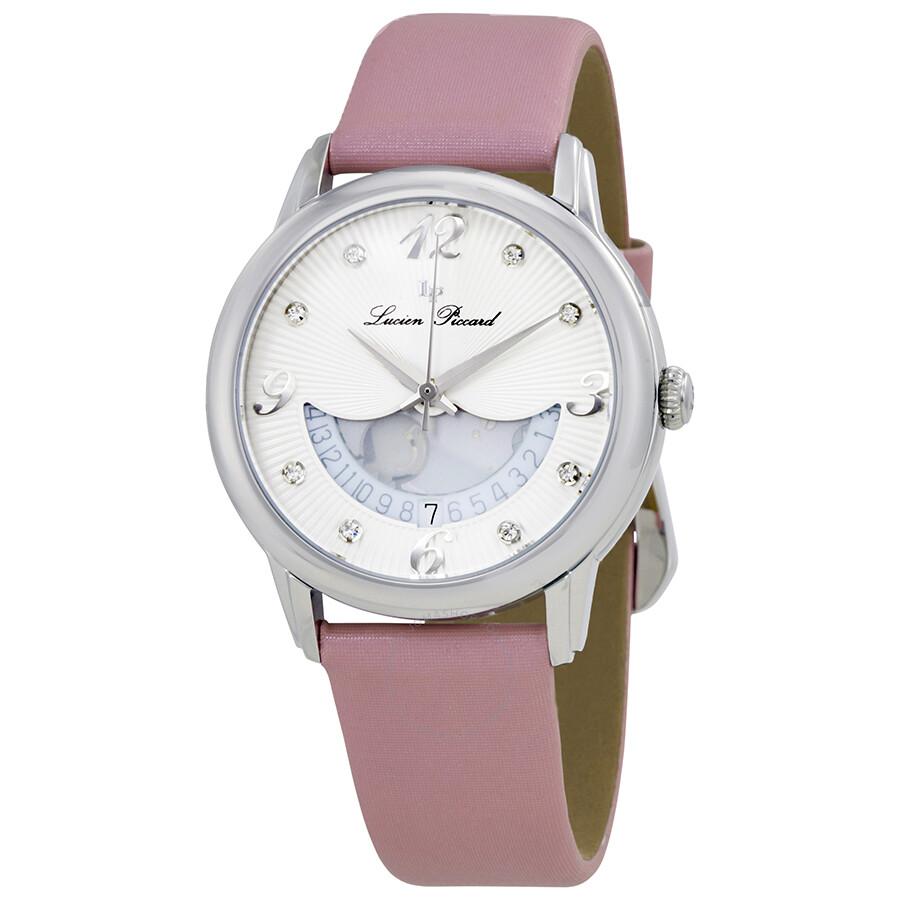 Lucien piccard bellaluna crystal ladies watch lp 40034 02 pkss lucien piccard watches jomashop for Crystal ladies watch