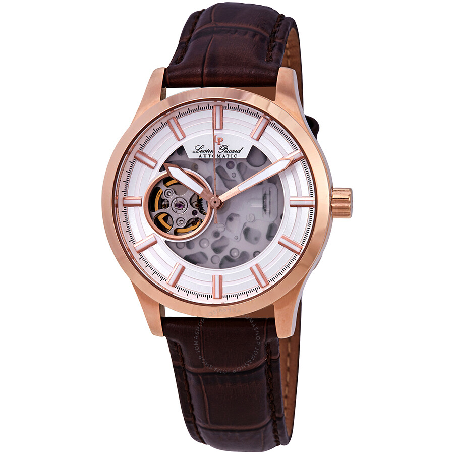 Lucien Piccard Sevilla II Automatic Mens Watch LP-28016A-RG-02SBRW