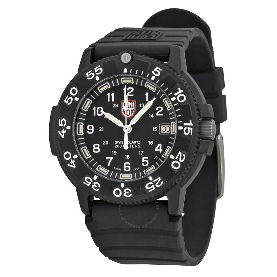 Luminox 3000 original navy seal dive series black men 39 s watch 3001 luminox watches jomashop - Luminox navy seal dive watch ...