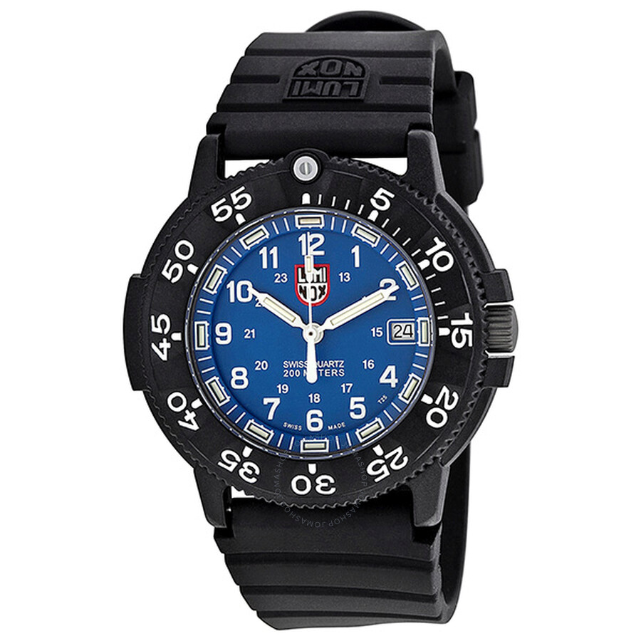 Luminox 3000 original navy seal dive series blue men 39 s watch 3003 luminox watches jomashop - Navy seal dive watch ...