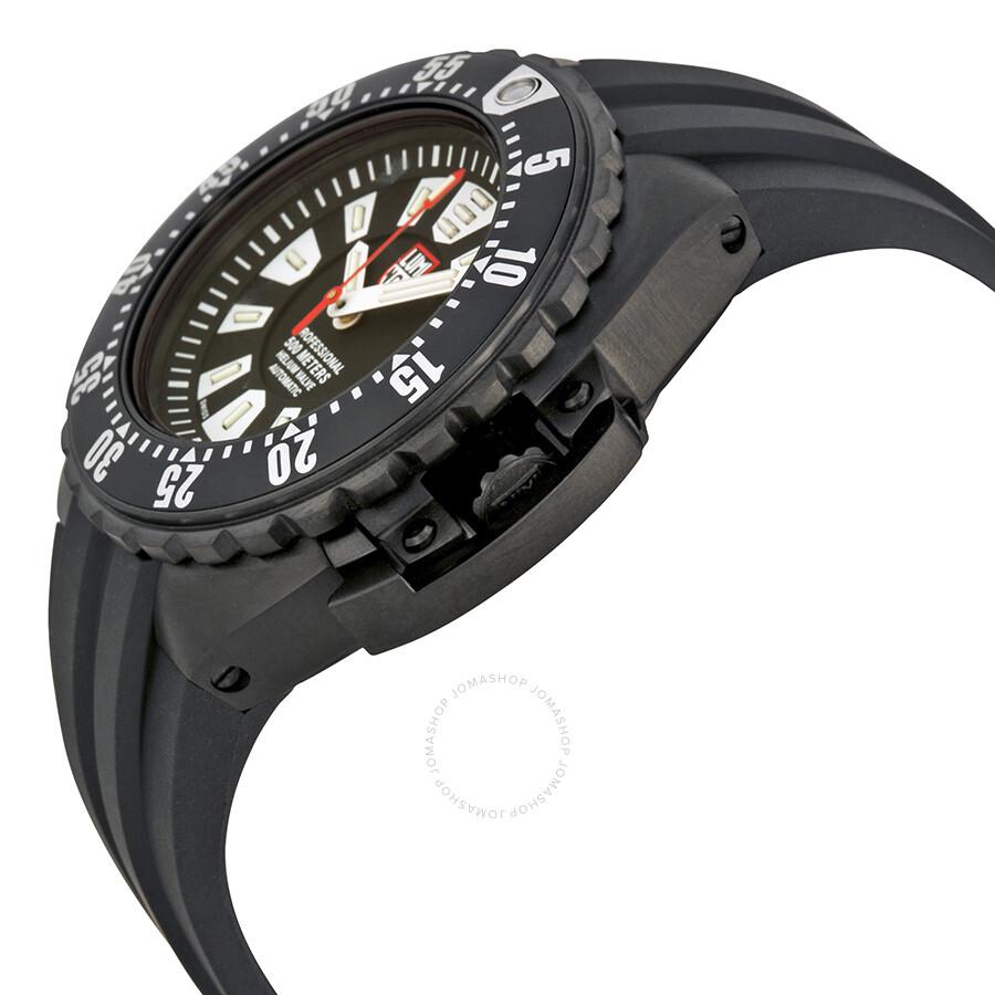 how to wind a luminox watch