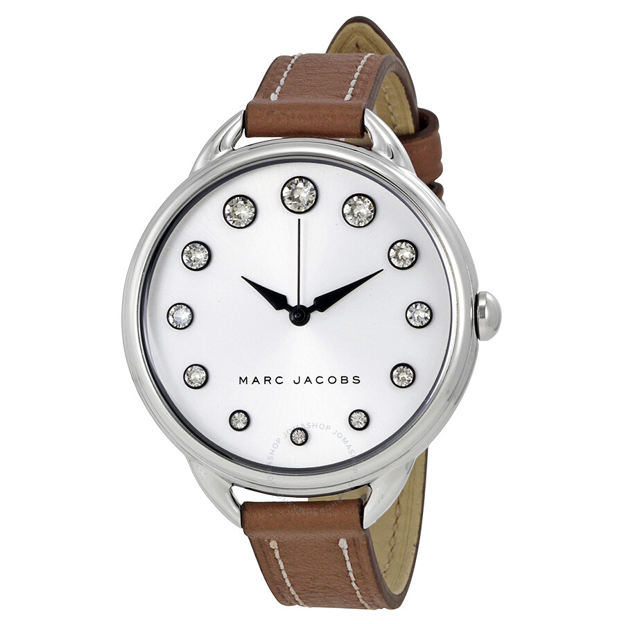 marc jacobs female marc jacobs betty ladies leather watch mj1476