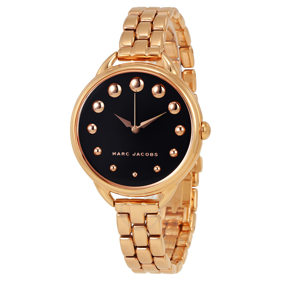 marc jacobs female marc jacobs betty ladies rose gold tone watch mj3495