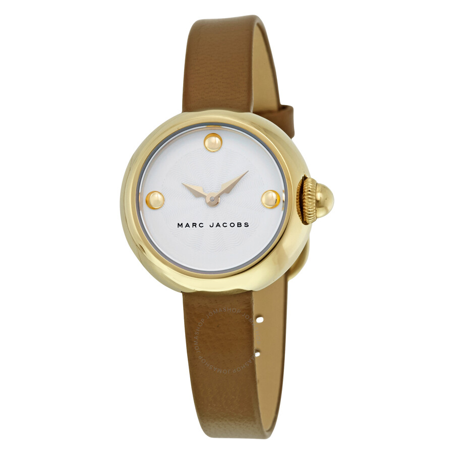 marc jacobs female marc jacobs courtney silver dial ladies dress watch mj1431