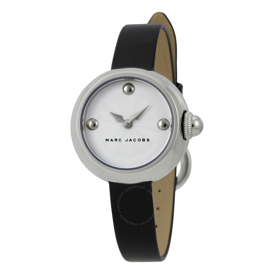 marc jacobs female marc jacobs courtney silver dial ladies watch mj1430