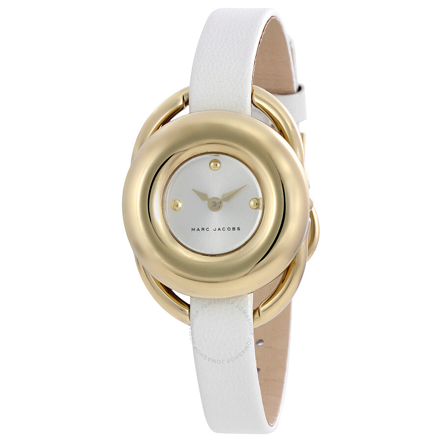 marc jacobs female marc jacobs jerrie silver dial ladies watch mj1446