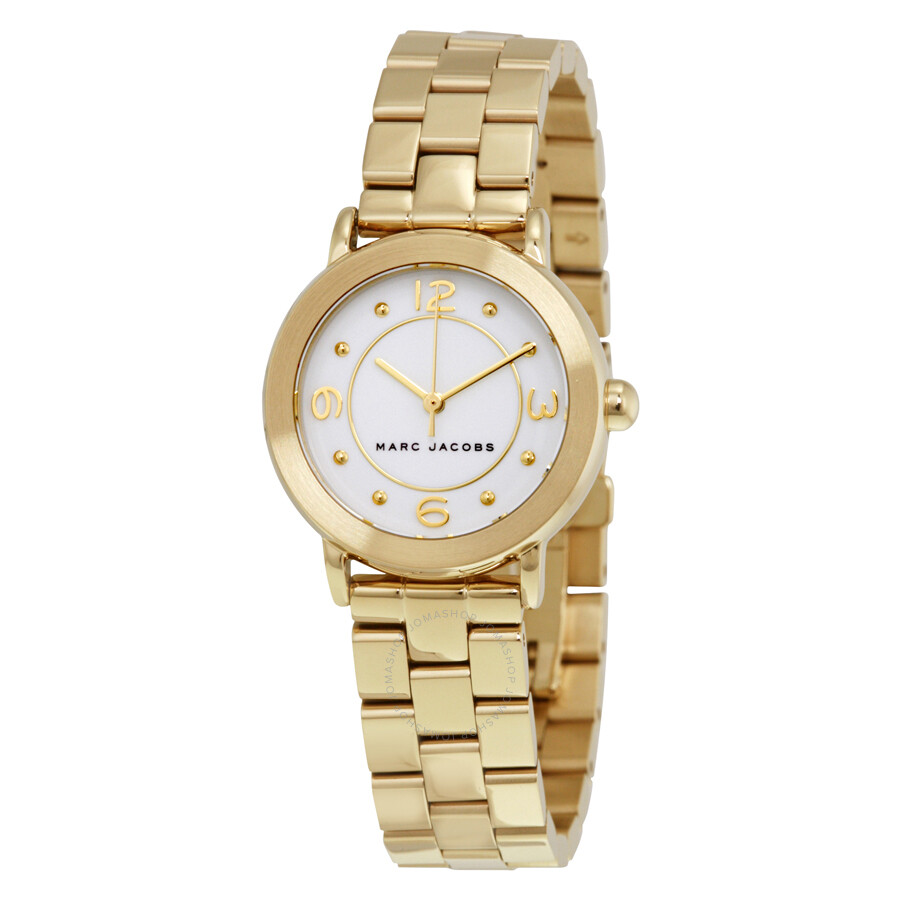 marc jacobs female marc jacobs riley ladies watch mj3473