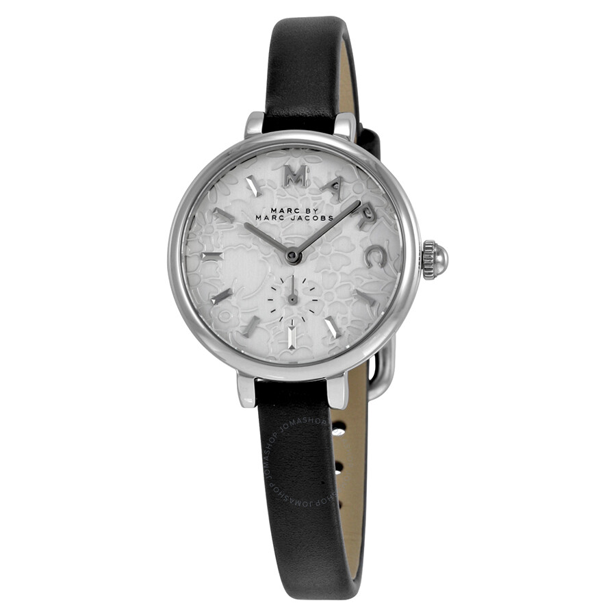marc by marc jacobs female 45900 marc by marc jacobs sally silver dial ladies watch mj1422