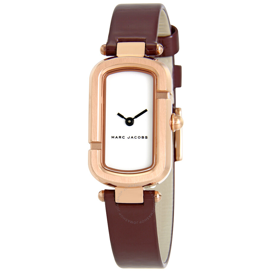 Marc by Marc Jacobs The Jacob White Dial Ladies Watch MJ1486