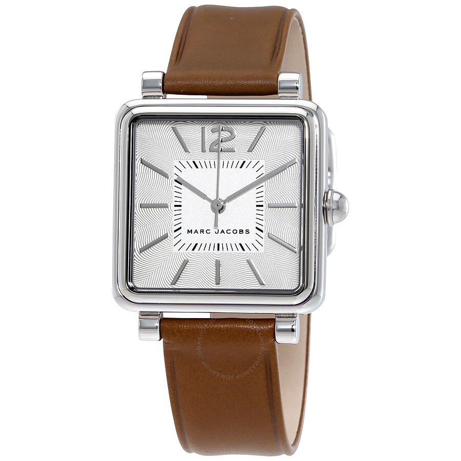 marc jacobs female marc jacobs vic silver dial ladies watch mj1436