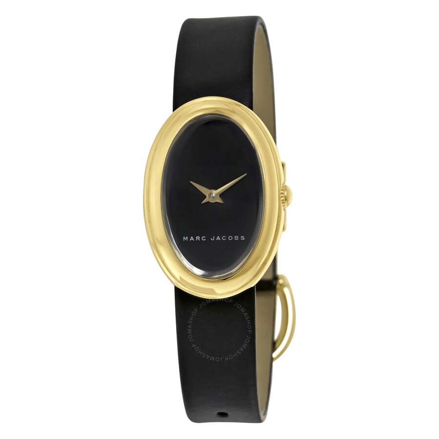 marc jacobs female 188971 marc jacobs cicely black dial ladies watch mj1454
