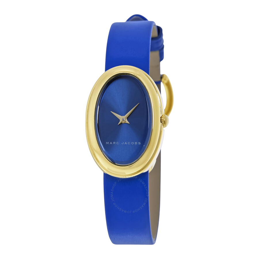 marc jacobs female marc jacobs cicely blue dial ladies watch mj1455