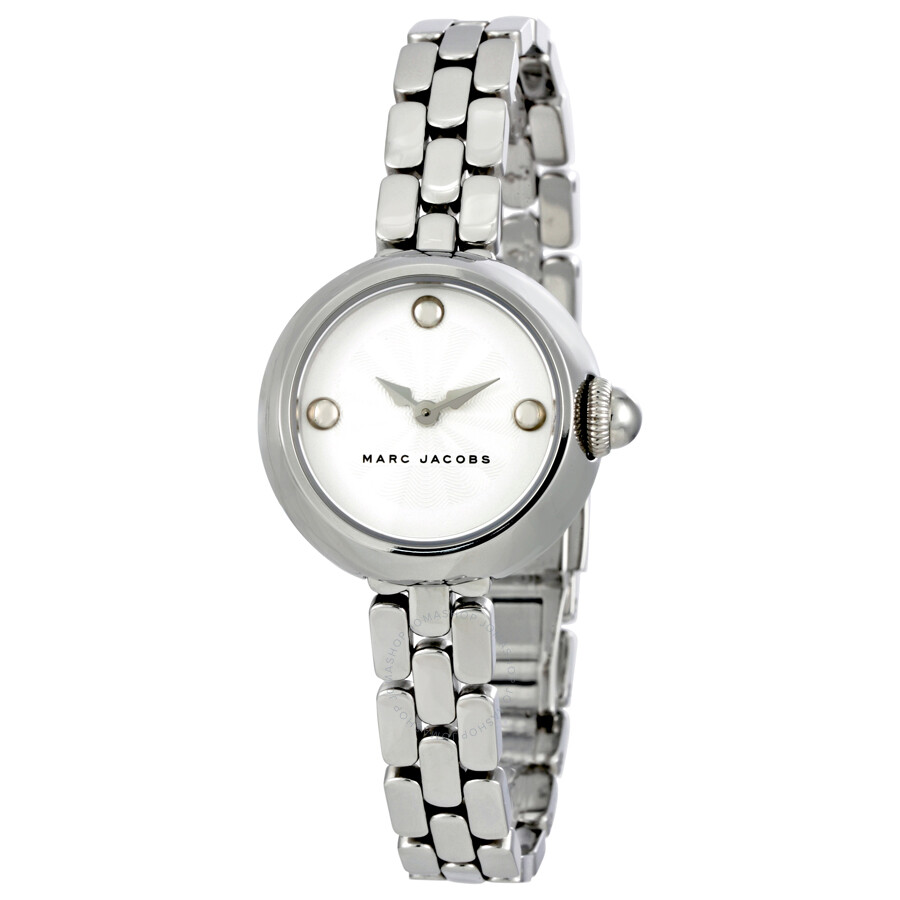 marc jacobs female marc jacobs courtney silver dial ladies watch mj3456