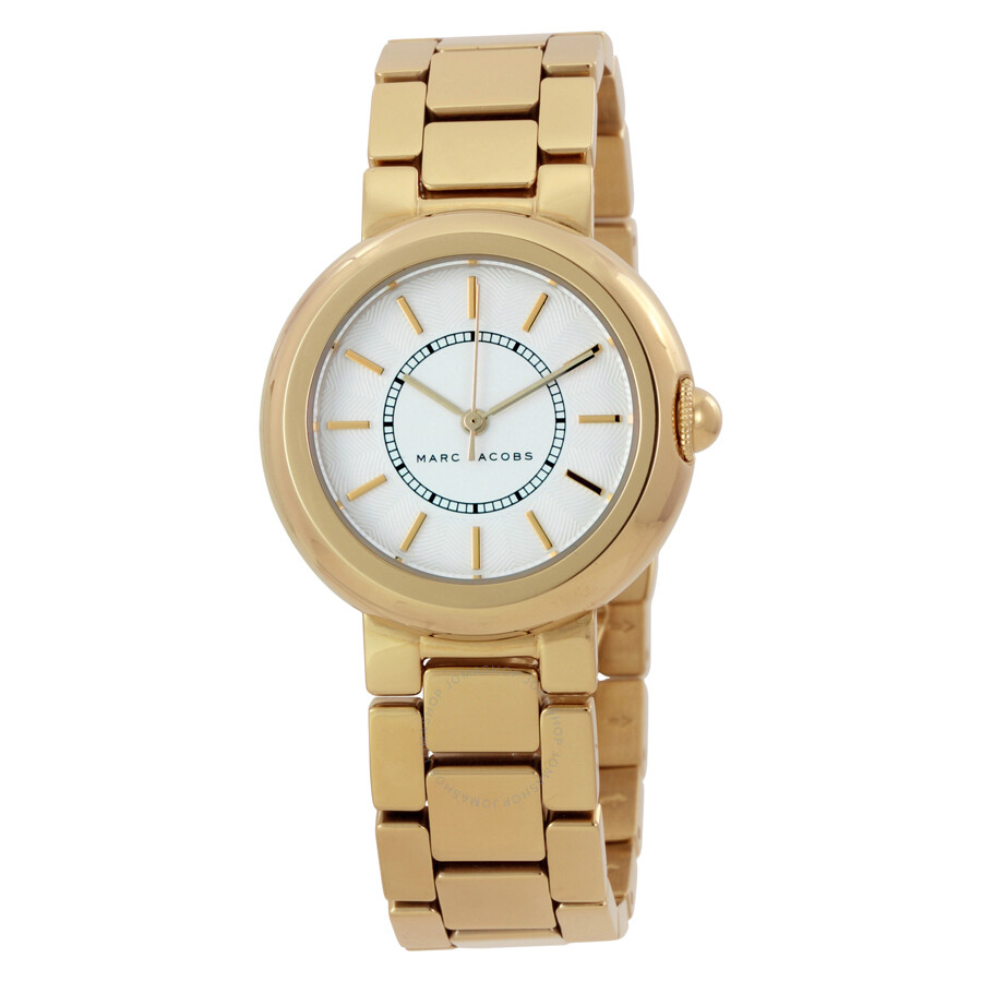 marc jacobs marc jacobs courtney white dial adies watch mj3465