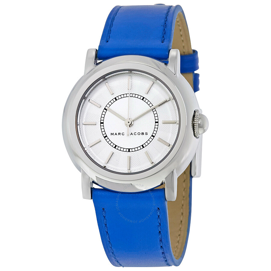 marc jacobs female 45883 marc jacobs courtney white dial ladies watch mj1451